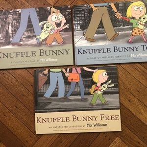 Knuffle Bunny Book set